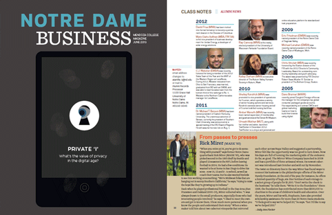 ND Business Magazine Spring 2013